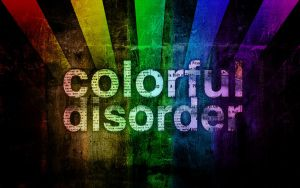 Colorful Disorder by Paperless