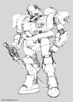 Mecha T by GTDees