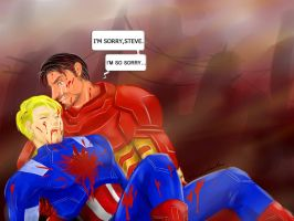 Steve and Tony:After by baiji