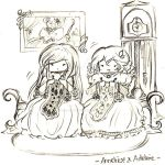 LftB - Adeline and Anneliese Chibis by LalaLiliLalaLii