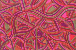 Linear Weaving#1 by KyleWilcoxVisualArt