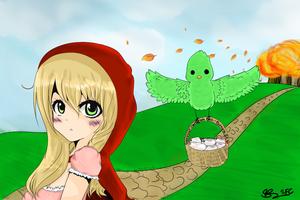 Contest Entry: Little red penny hood! by StarfruitChan