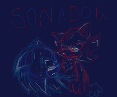sonadow... by sonic-chain
