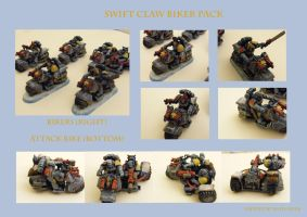 Space Wolf Swift Claw Pack by Anararion