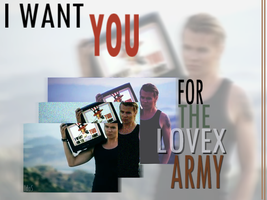 I want you for the Lovex army by IdaBlack