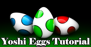 C4D R12 -14min Video -Yoshi Egg Modeling+GI Render by PhilipTheArtist