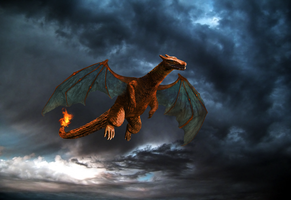 Real life Charizard (Light) by WrathOfSithis