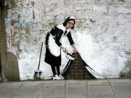 Banksy Rules Walls by candeviate
