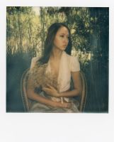 The Lightness of Being Polaroid 3 by Queen-Kitty