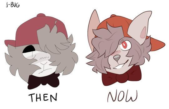old art style vs now by Lovesick1133