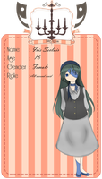 Guillotine Mansion App: Iris Seclair by MoonSpirit17