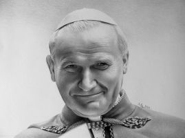 John Paul II by zetcom