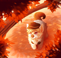 Fall Letters by Caesol