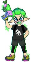 inkling boy (splatoon 2) by toggetic