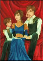 Blood tears - family by CeciliaSal