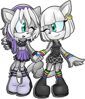 Contest Prize: Chorus and Pippa by LancerWolf13