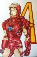 Iron Man- The Avengers by Kari--Koboyashi