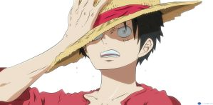Badass luffy by Klubin