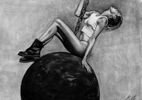Wrecking Ball by Csillipepper