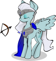 Pony OC auction 3 - current bid 100 points (cloesd by Longdayart