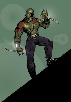 Drax by middleclasscyborg