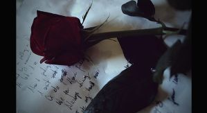 a rose for the dead by Verlasse