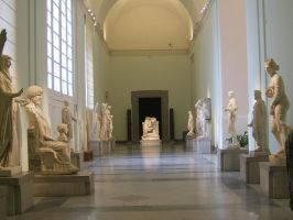 Hall of Staues stock by ED-resources