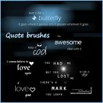 Quote brushes by Snowiee