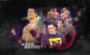 Wade Barrett Wallpaper by Tiff-toff
