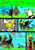Dusk's Retarded Adventre: day 4 page 1 by duskdragon13