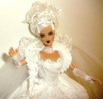 Gothic Marie Antoinette Barbie by dakotassong