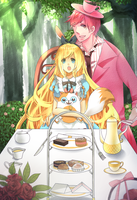 Afternoon Tea+Adventure time+ by DevilPink