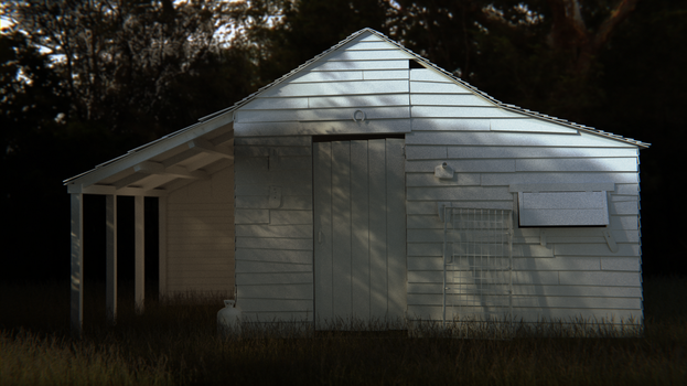 The Shed [Stranger Things] by MichaelTzan