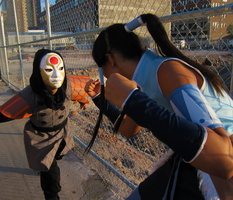 Korra Cosplay- I Must Fight by Nefepants