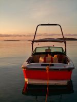 Dassia boats at sunrise 4 by melrissbrook