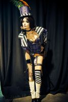 Moxxi cosplay - Smuack by ThelemaTherion
