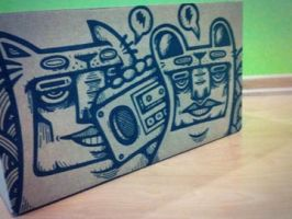 Boom Box 02 by GalactikCaptain