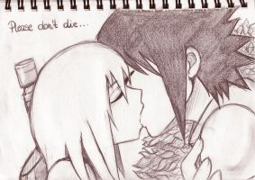 Please don't die. SasuSui by Yami-No