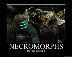 Dead Space Necromorphs by Vickin15