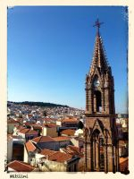 Cathedral of Mytilene by Kwnnos