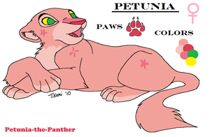 Petunia's Reference by Petunia-The-Panther