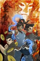 The Legend of Korra Fire Ferret Poster by Tsubasa-No-Kami