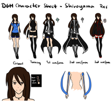 DGM character sheet - Shiroyama Rei by GazeRei