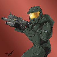 Halo Masterchief-Charity Part1 by TheUmbris