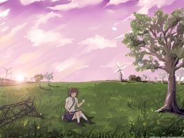 Remember Me As A Time Of Day by arrhenius-ohlm