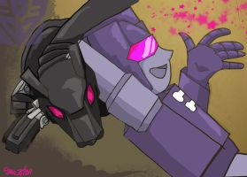 Rumble and Ravage by ShianMoonites