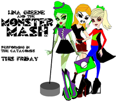 Lina Greene and the Monster Mash by GirlsGoneWild101