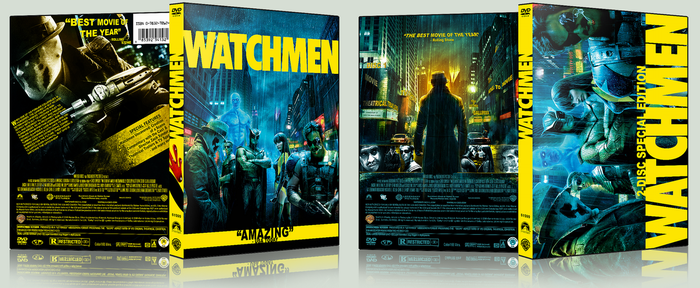 Watchmen DVD Covers by hobo95