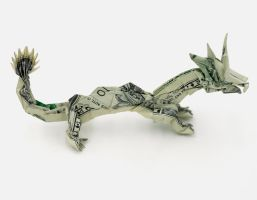 Two Dollar Chinese Dragon by orudorumagi11