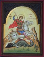 Saint George the Trophy-Bearer by logIcon